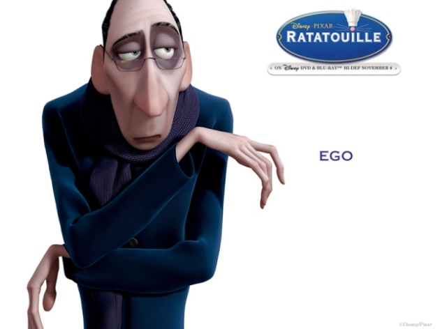Food Critic Ego in Ratatouille