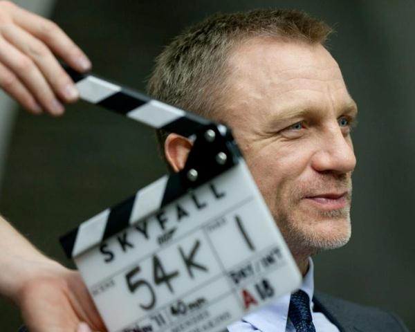 Daniel Craig stars as James Bond in 'Skyfall'