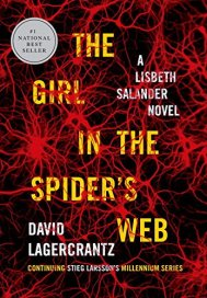 David Lagercrantz's THE GIRL IN THE SPIDER'S WEB